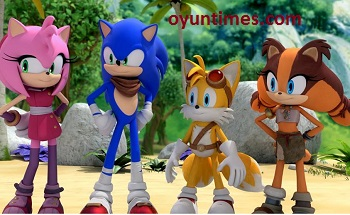 Sonic Boom izle oyunu